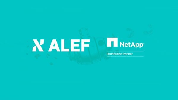 ALEF Distribution becomes the only distributor of NetApp in Central and Eastern Europe