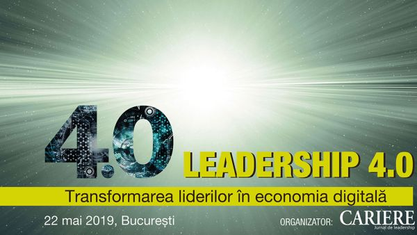 Come to Leadership 4.0 event to learn about the transformation of leaders in the digital economy