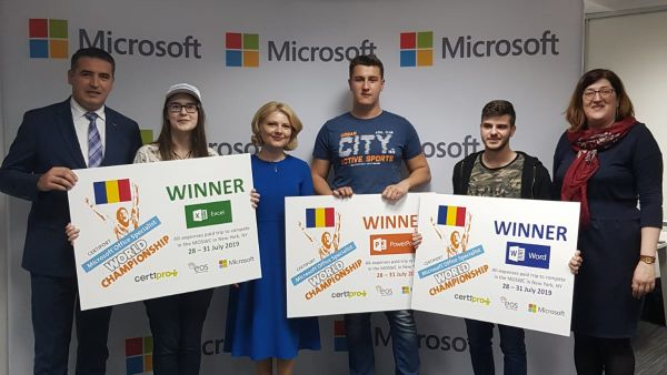 Bucharest - New York's Digital Compatence Axis was drawn for the Microsoft Office Specialist 2019 World Championship Final