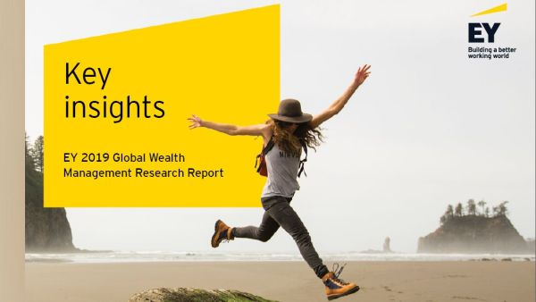 EY Study: 33% of wealth management clients intends to change its supplier