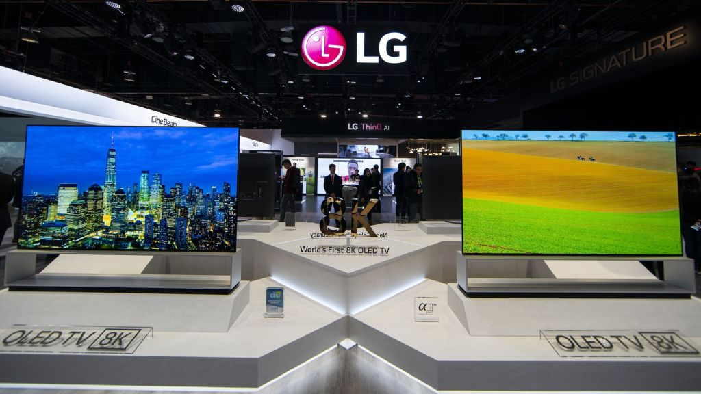 LG announces the sale of the world's first OLED 8K TV