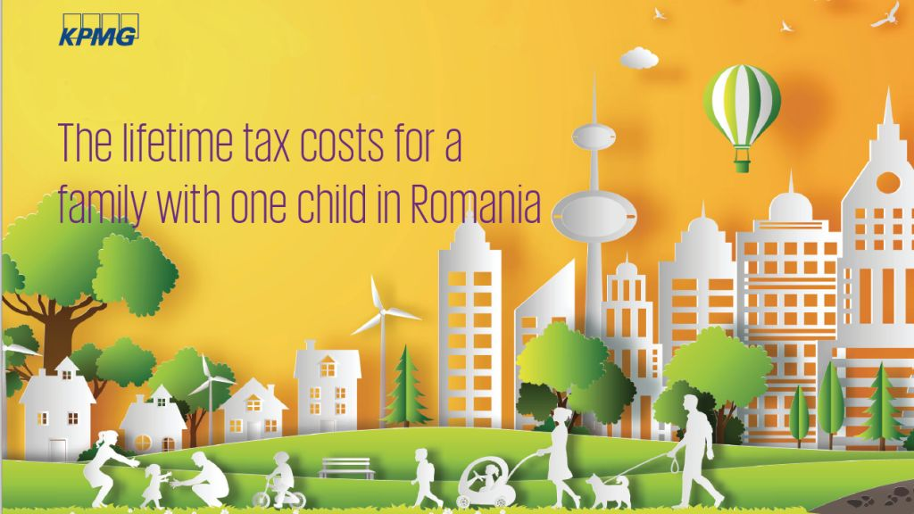 KPMG analysis: 3 million lei - The average lifetime tax paid by a family with one child in Romania.  How do the authorities spend our taxes?