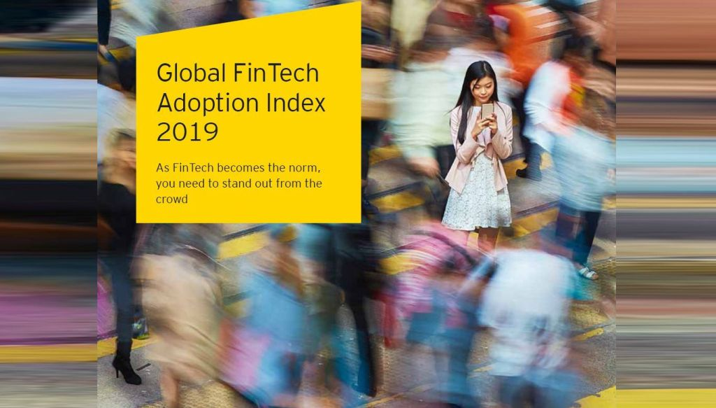 FinTech's adoption rate has risen to 64% globally and 96% of consumers have heard of at least one such service