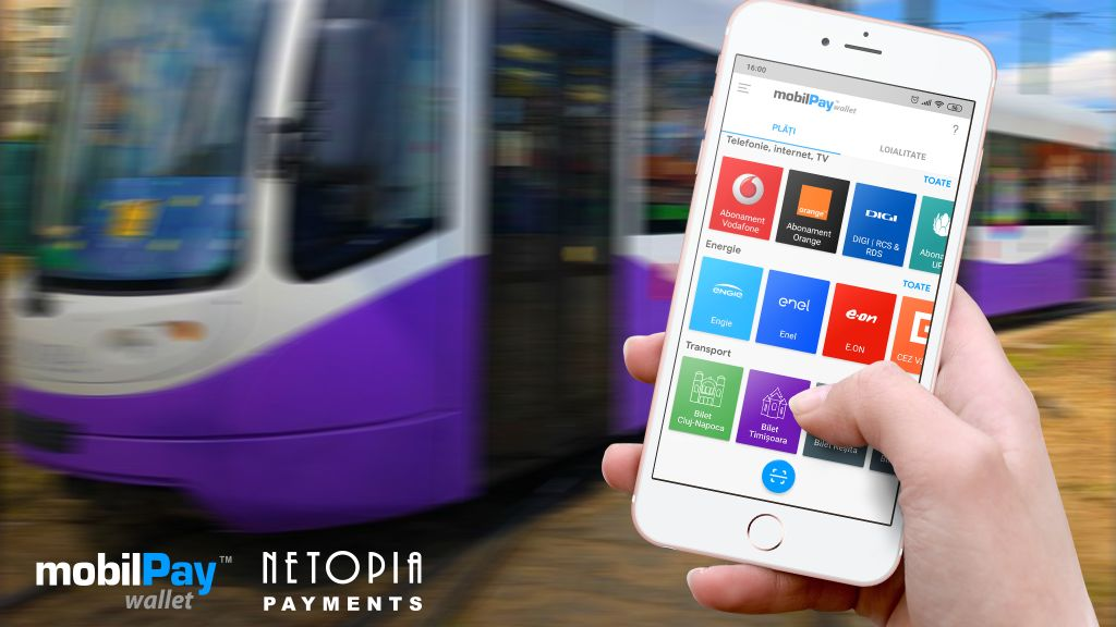 Timisoara Public Transport Company introduced the mobile payment of the public transport ticket through SMS   and the mobilePay Wallet application