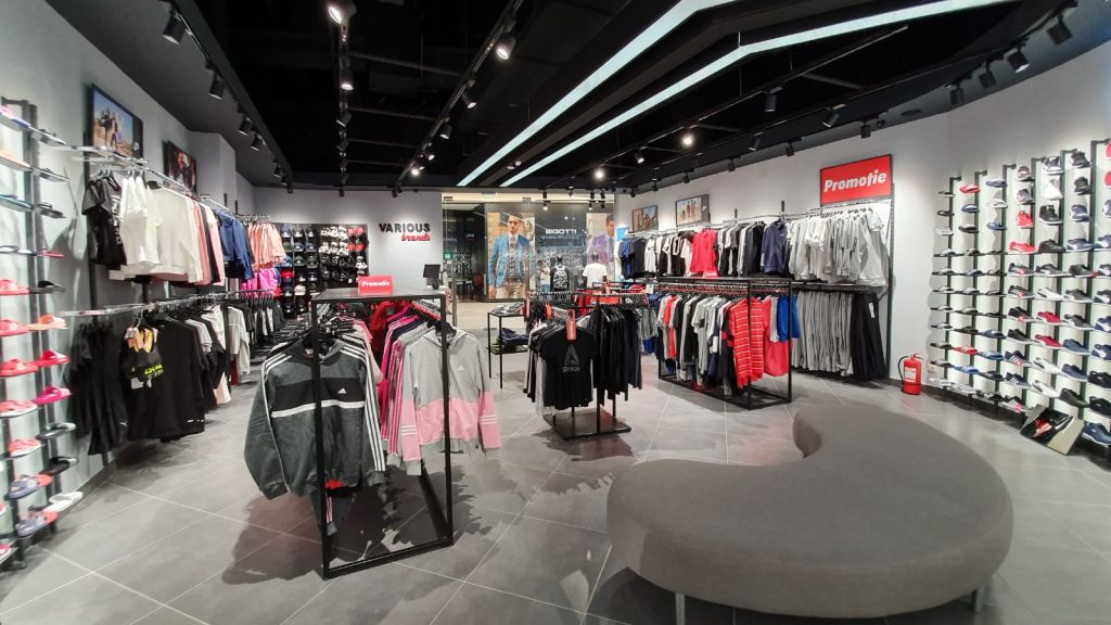 Various Brands has opened a new store in Shopping City Buzau