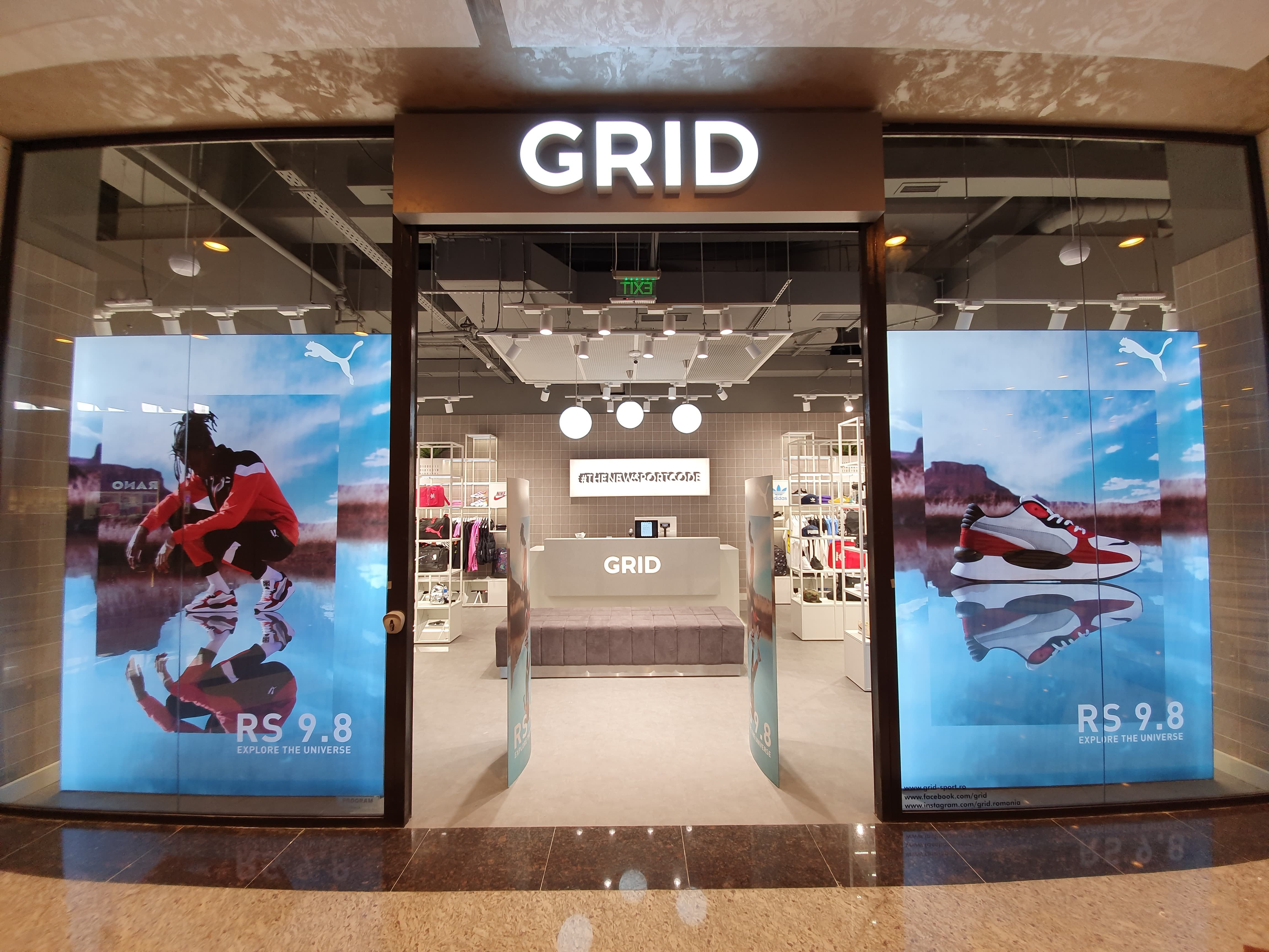 GRID expands with the first store in the west, in Timisoara