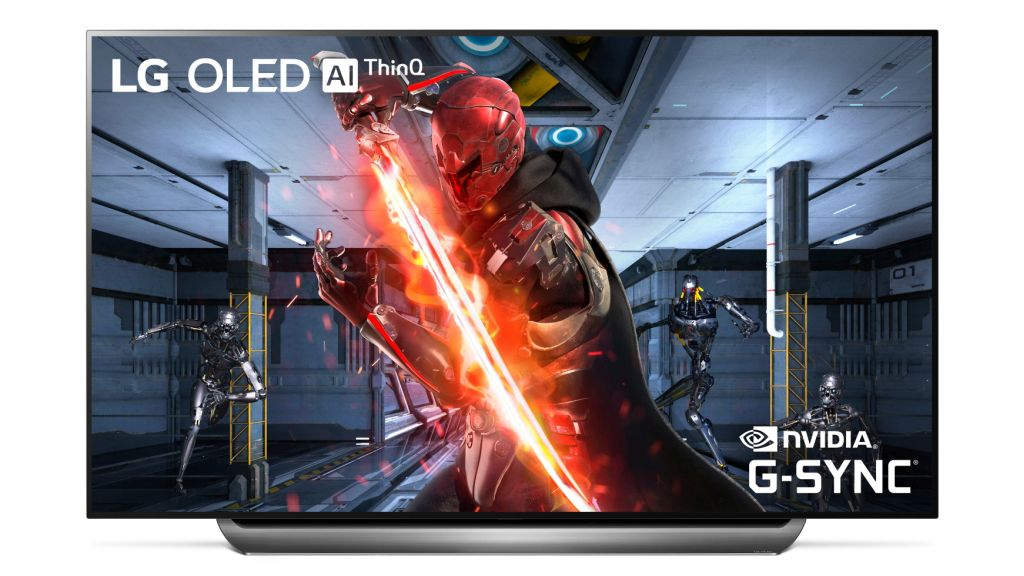 LG unveils the first OLED TVs that support NVIDIA G-SYNC for large-screen gaming