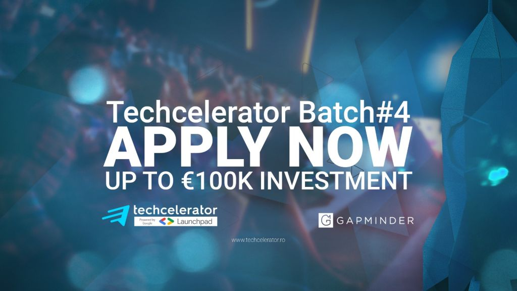 Techcelerator announces the opening of the applications for the fourth batch of the program, with funding up to 100,000 euros / startup