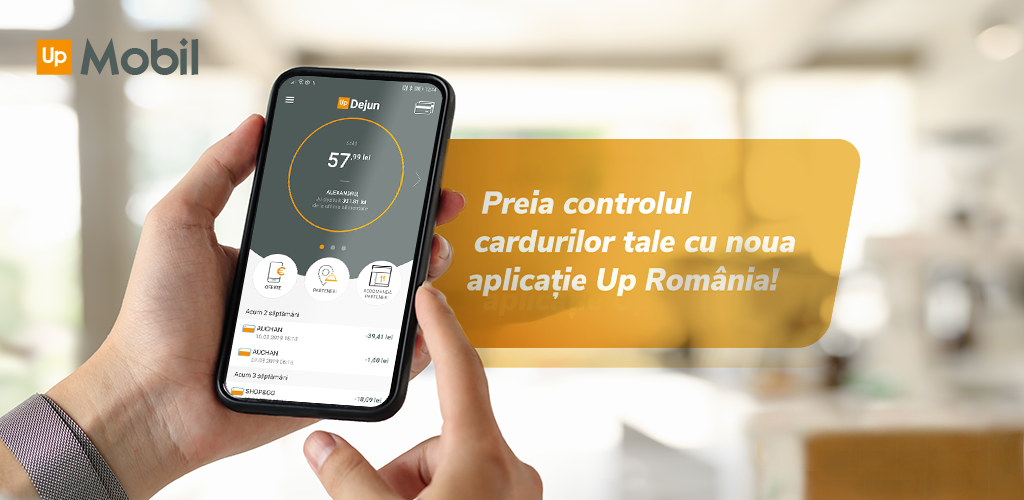 Up Romania launches Up Mobil, a new application for managing benefit cards