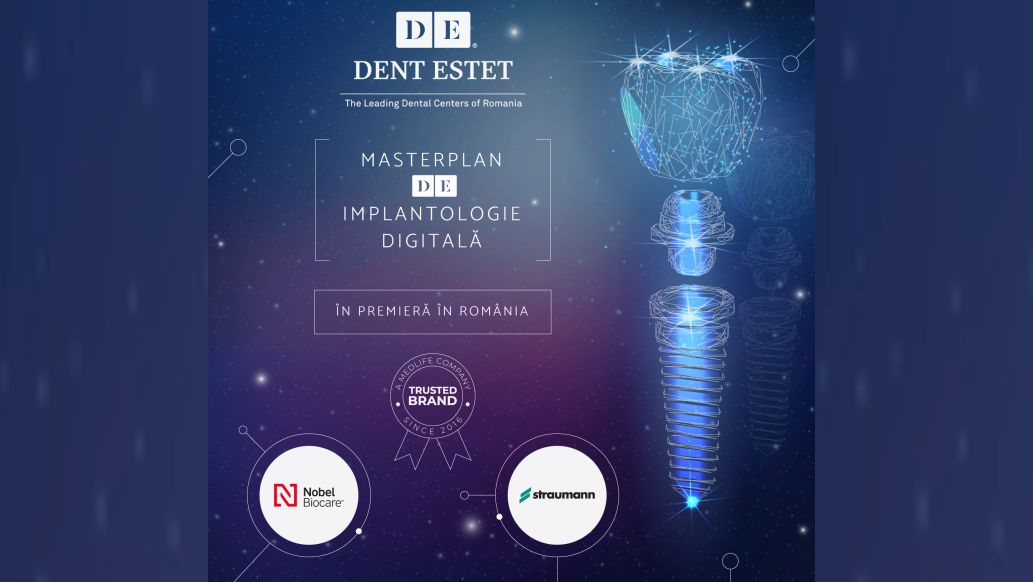 DENT ESTET creeaza un serviciu unic in Romania - MASTERPLAN de Implantologie Digitala