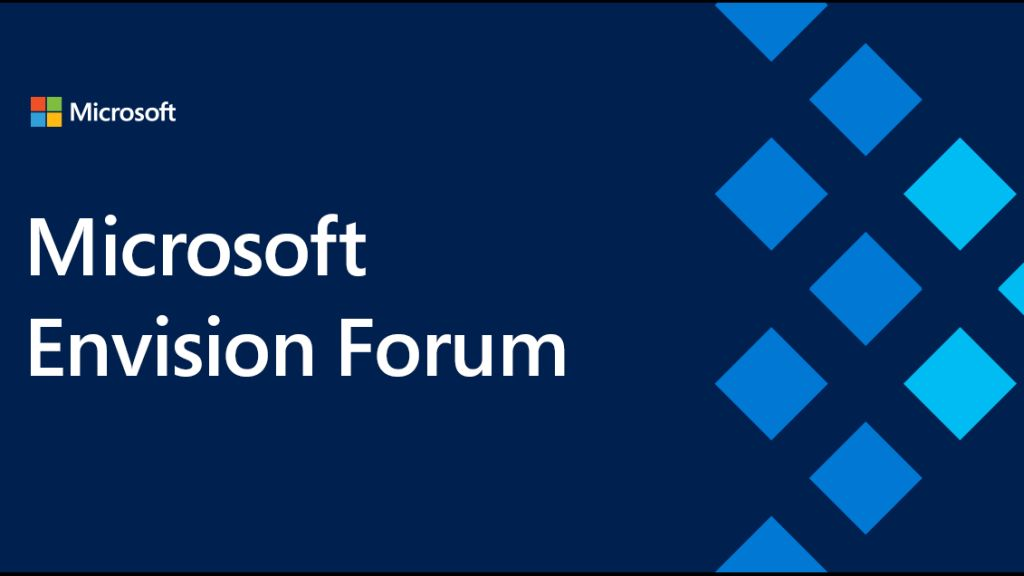Innovation and digital transformation at Microsoft Envision Forum