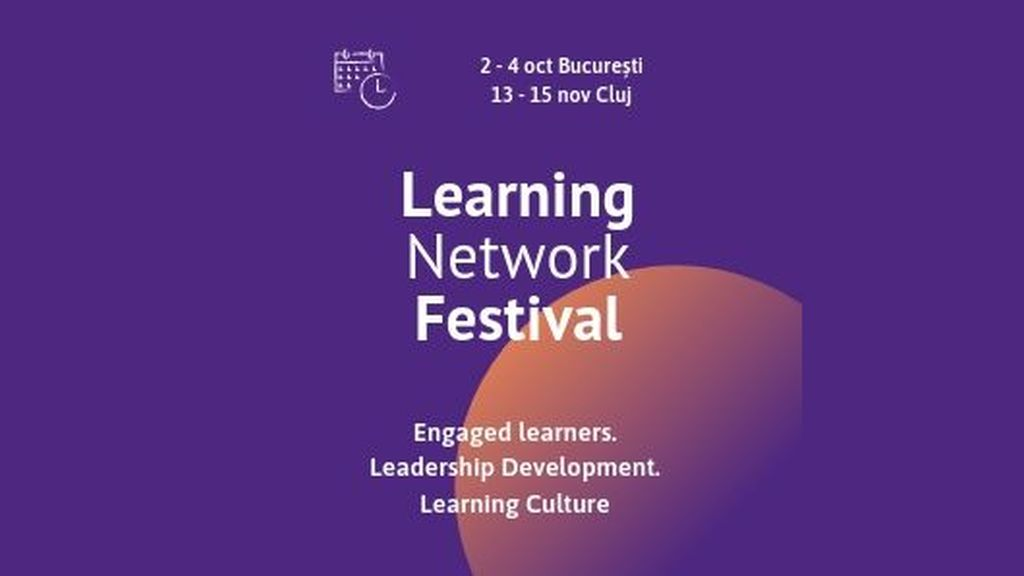 Learning Network Festival, the event that brings to Bucharest the 2020 trends in employee training and development