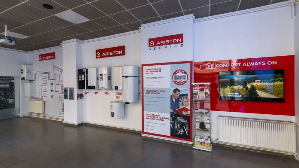 Ariston Thermo Romania opens a showroom in Cluj-Napoca, the most modern in the north-western area of ​​the country