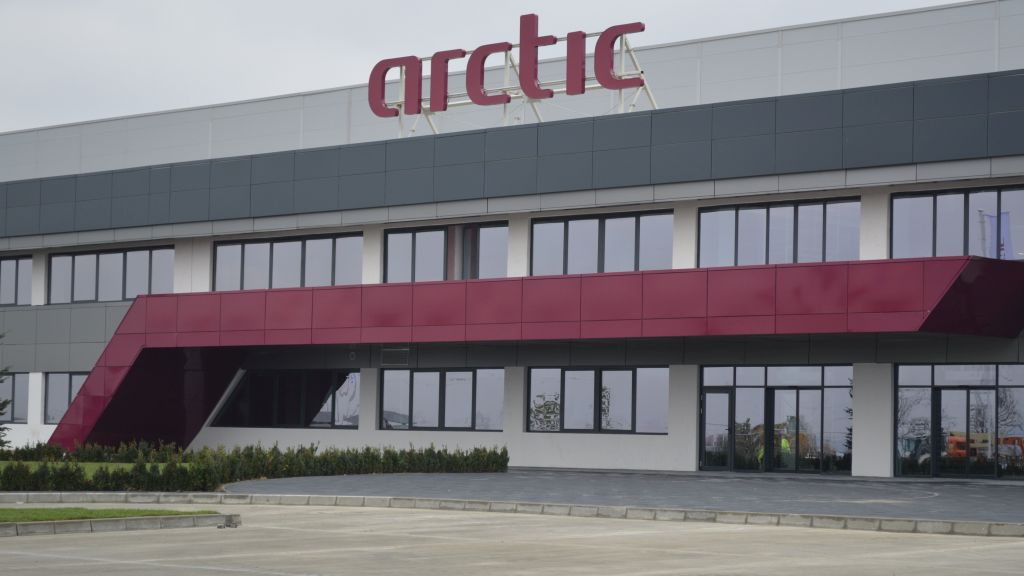 Arctic announces that the first Industry 4.0 factory in Romania is operational. The investment amounts to 150 million euros
