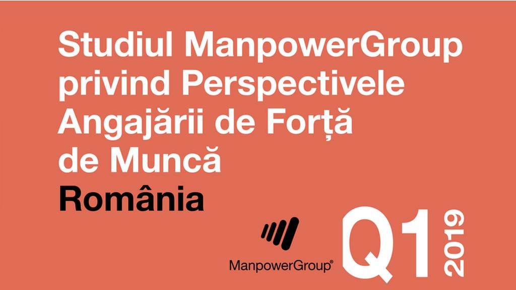 ManpowerGroup study on the Perspective of Employment in Romania but also on a global level