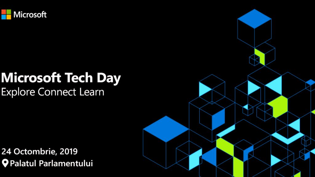 Inovatie prin tehnologie si transformare digitala la Microsoft Tech Day