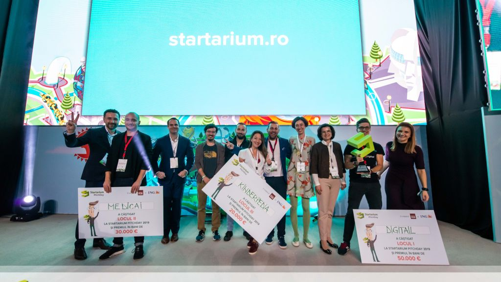 Startarium PitchDay 2019: 1000 participants, 10 startups launched, 10 accelerated