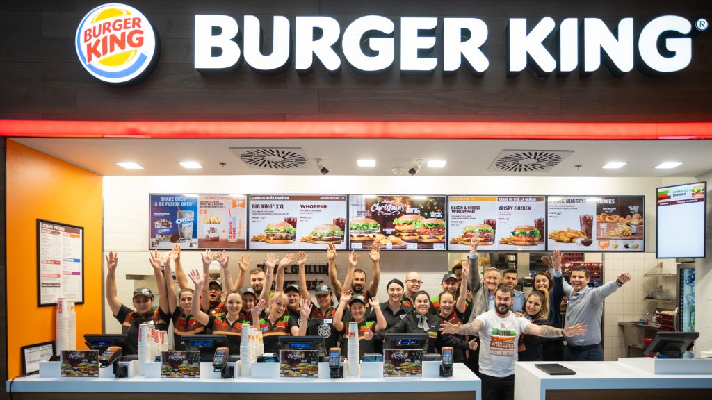 The new Burger King in AFI Cotroceni – over 6,000 customers served in the post-opening weekend
