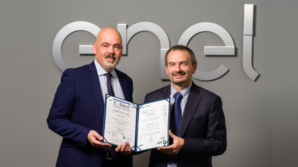 ENEL receives the ISO 37001 certification - Anti-Bribery Management System