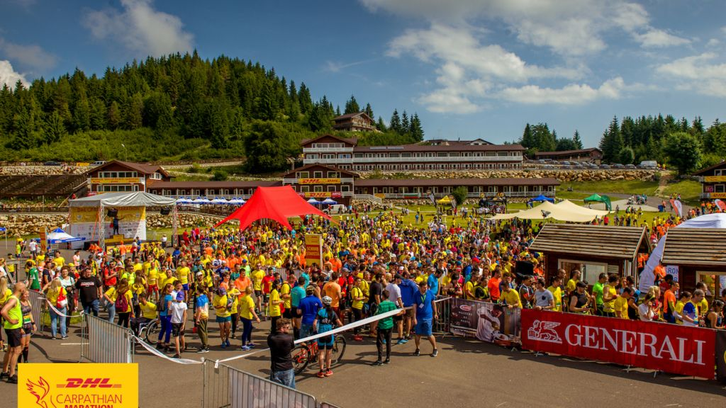 Become a champion for champions and sign up for the 11th DHL Carpathian Marathon powered by MPG!