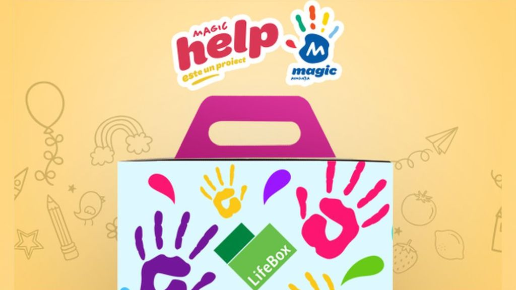 LifeBox will donate 8,000 menus to hospitals through MagicHELP, a project of the Magic Association