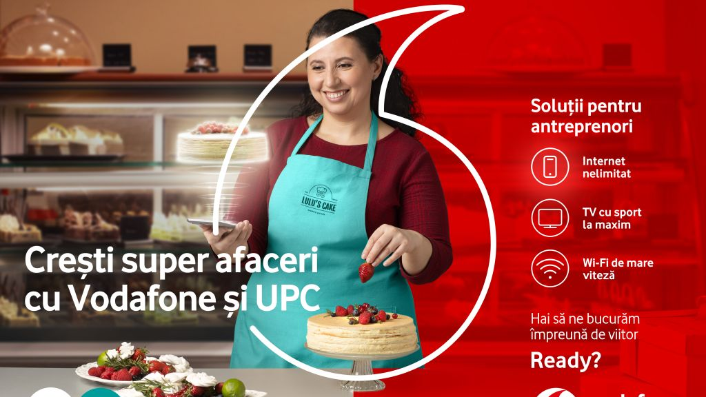 Vodafone Romania launches complete special offers for entrepreneurs