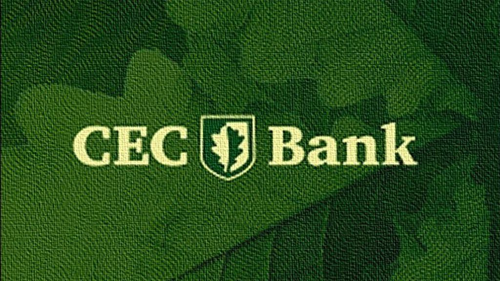 CEC Bank postpones for one month the payment of rates on all loans granted to individuals