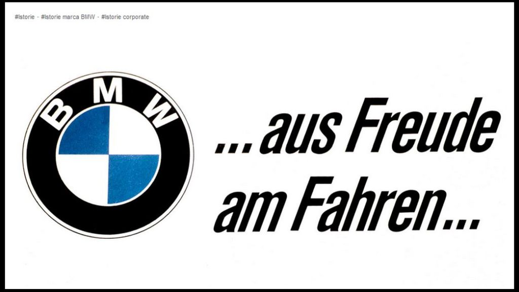 The history of Pleasure to drive - ​​for more than half a century, Freude am Fahren means BMW