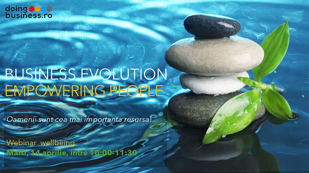 Business Evolution - EMPOWERING PEOPLE - Solutions for continuity in a challenging business environment