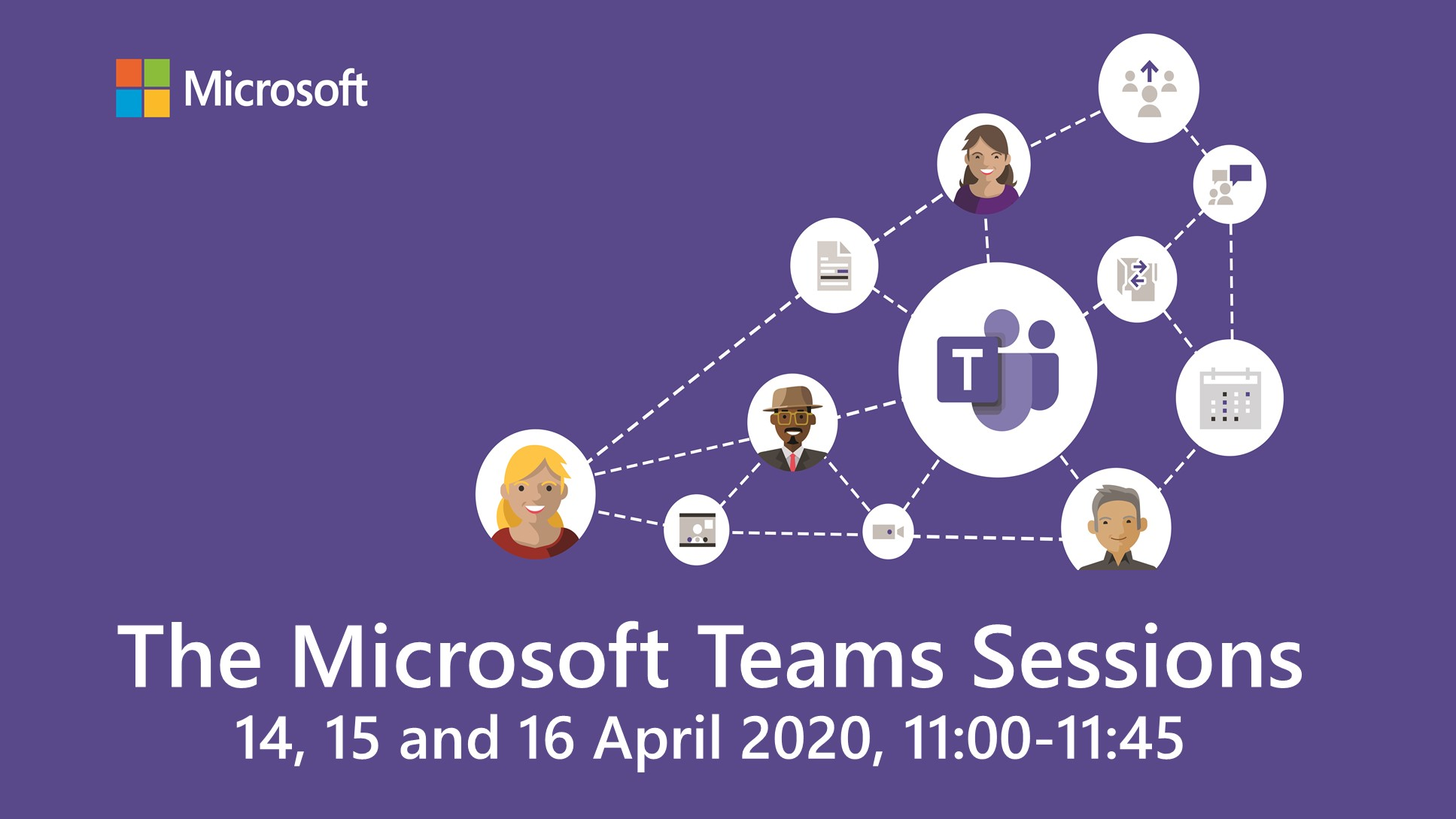 The Microsoft Teams Sessions | April 14, 15, 16