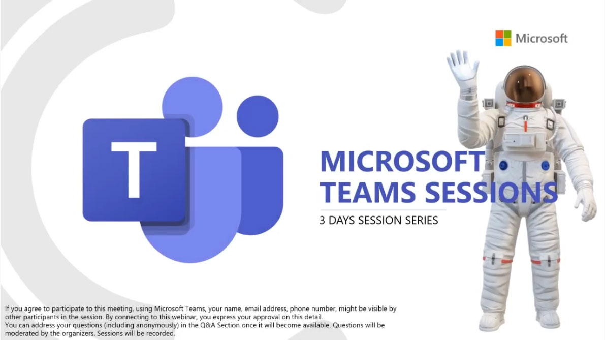 Overview The Microsoft Teams Sessions