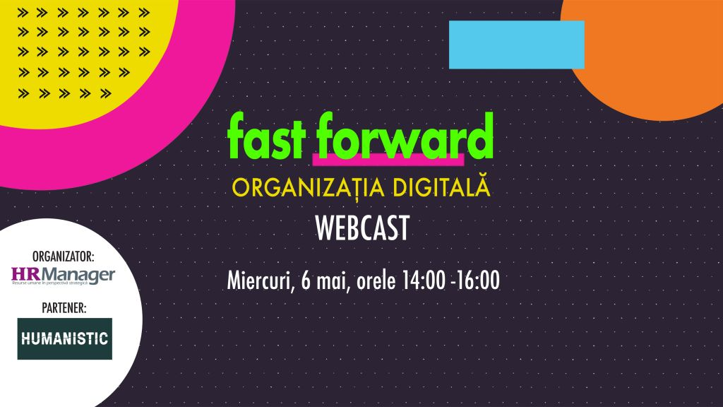Fast forward. Organizatia digitala