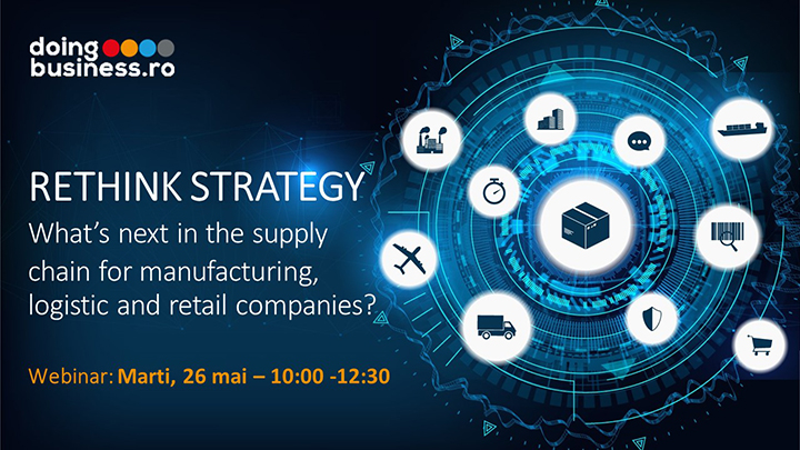 Webinar - Business Evolution - RETHINK STRATEGY - What's next in the supply chain for manufacturing, logistic and retail companies?