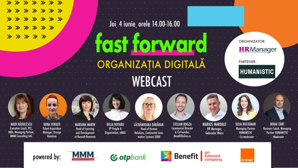 FAST FORWARD. ORGANIZATIA DIGITALA – editia 2