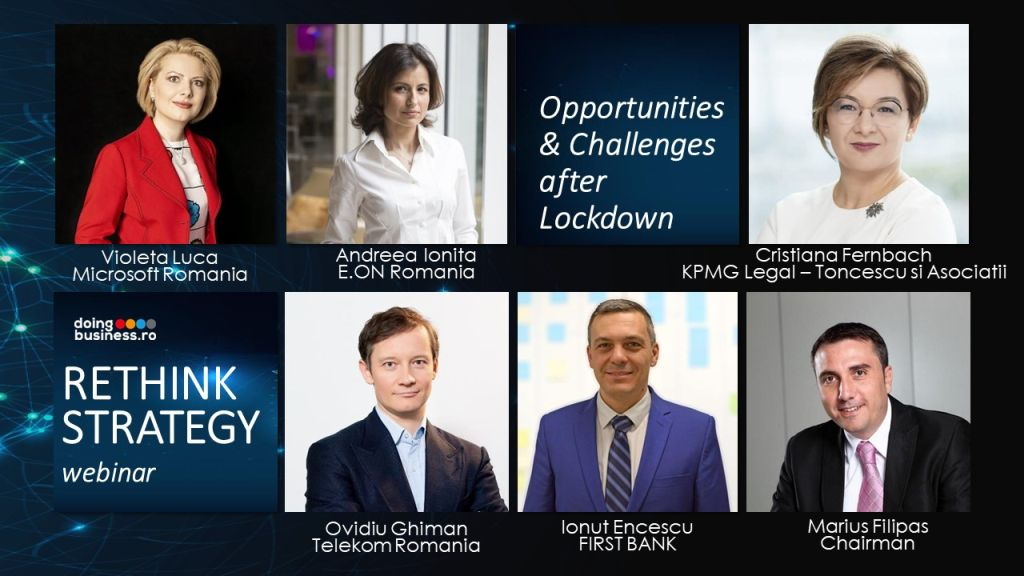 Opportunities & Challenges after Lockdown - Rethink Strategy – Insights from Business Leaders