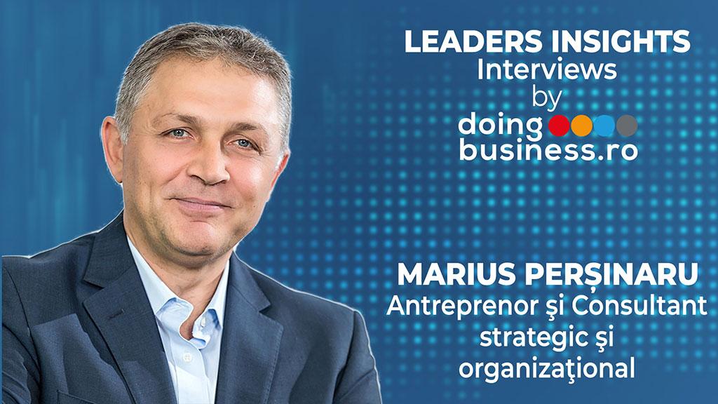 Marius Persinaru @ LEADERS INSIGHTS Interviews