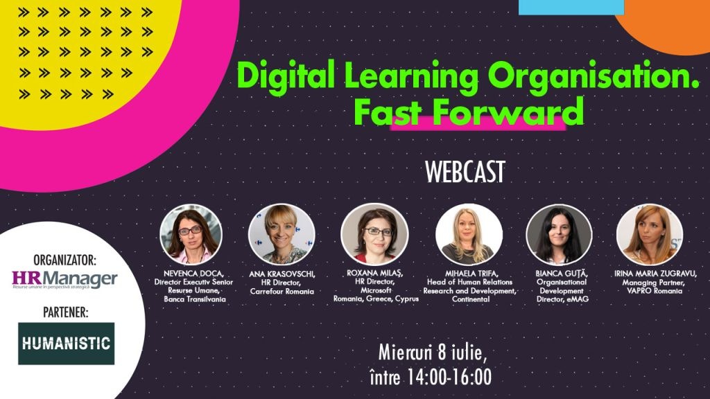 Webcast: Digital Learning Organisation. Fast Forward
