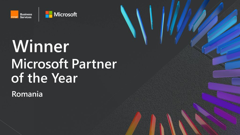 Orange company recognized as the Microsoft Partner of the Year 2020 in Romania