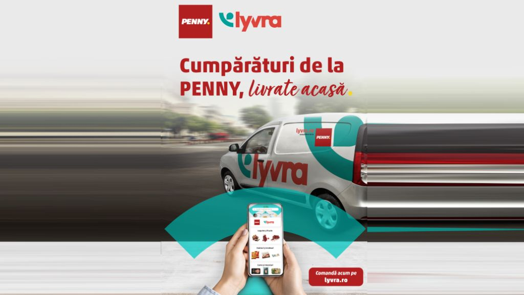 PENNY products delivered for the first time directly to home via Lyvra