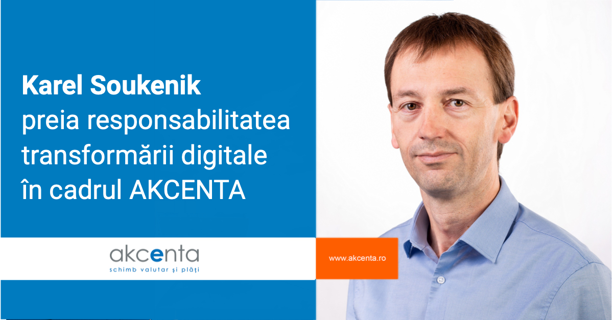 A new force in AKCENTA's leadership: Karel Soukenik is a new member of the Board of Directors