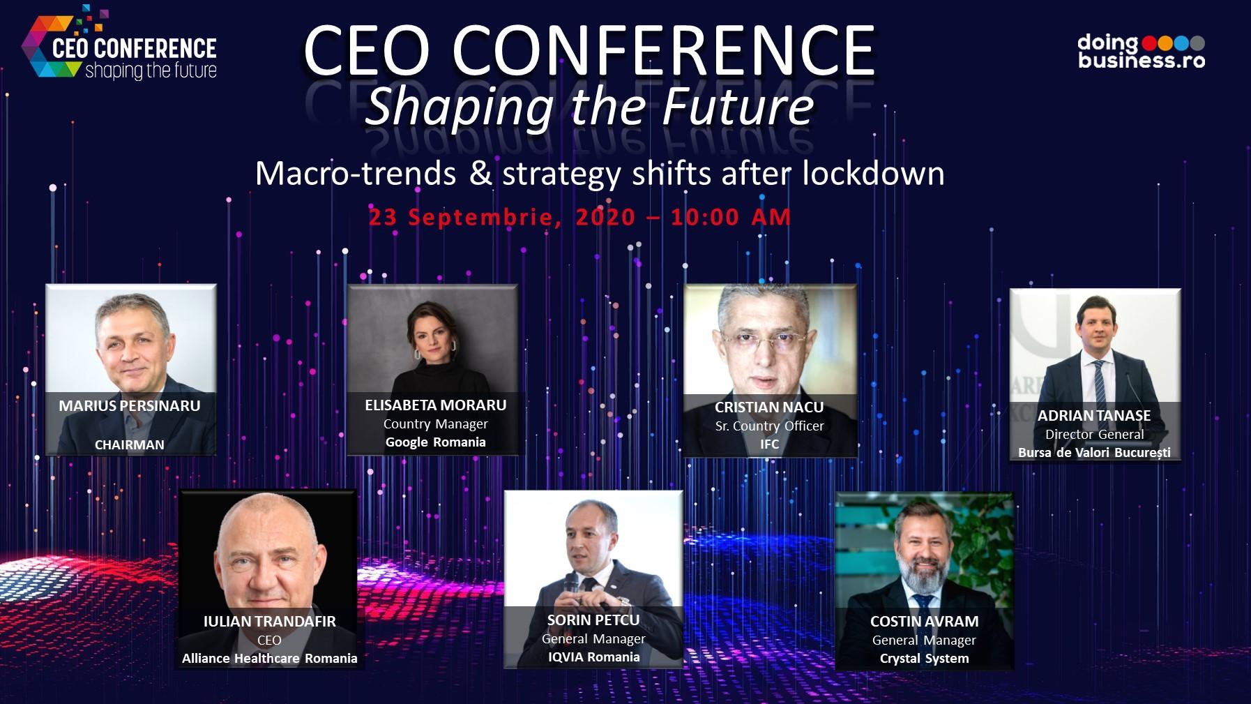 """Care sunt tendintele si directiile de business si ce schimbari de strategie pregatesc liderii marilor companii din Romania pentru adaptarea la """"noua normalitate"""""""