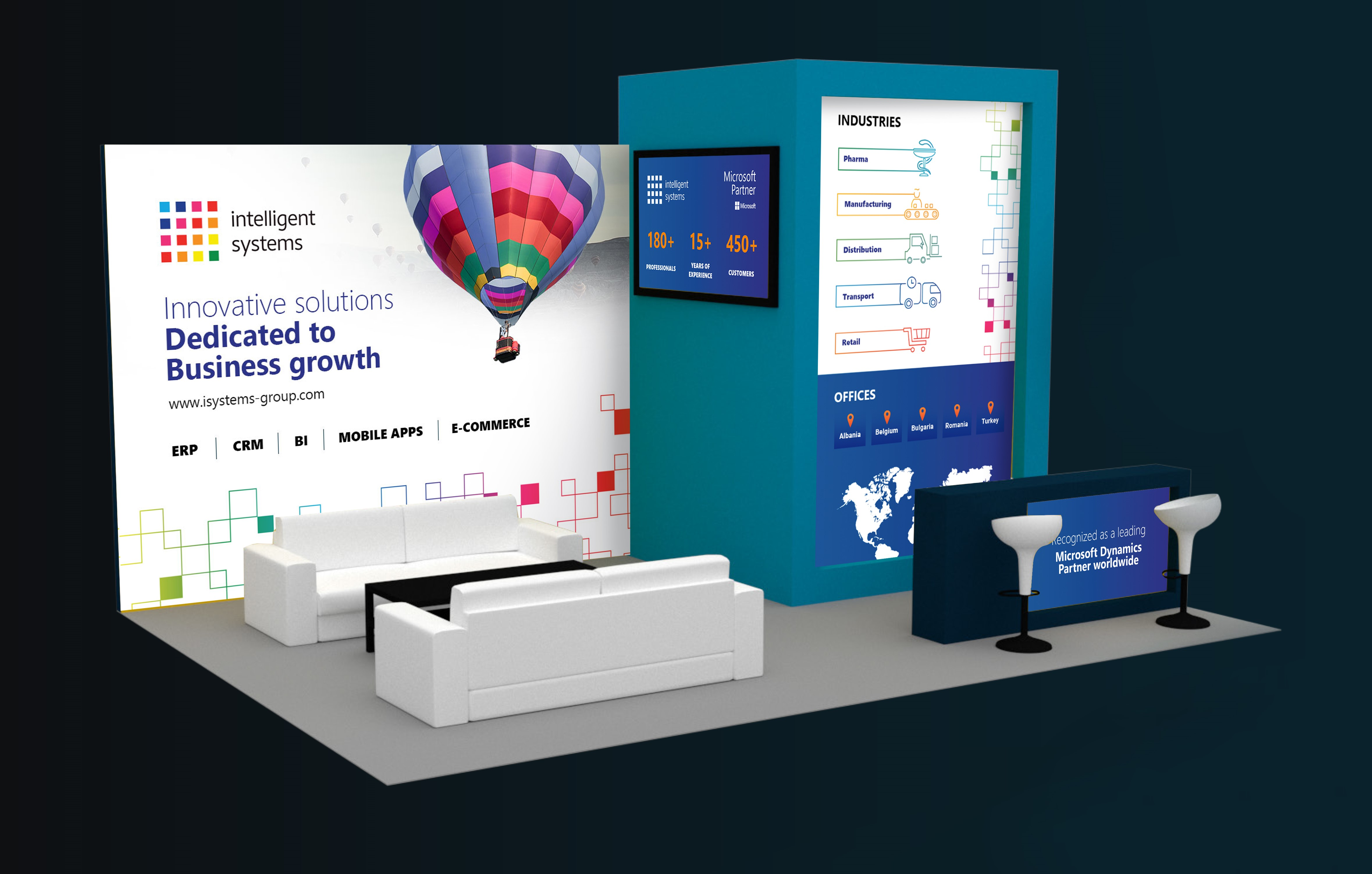 Intelligent Systems will show you how technology can improve distribution and delivery operations within GoTech World