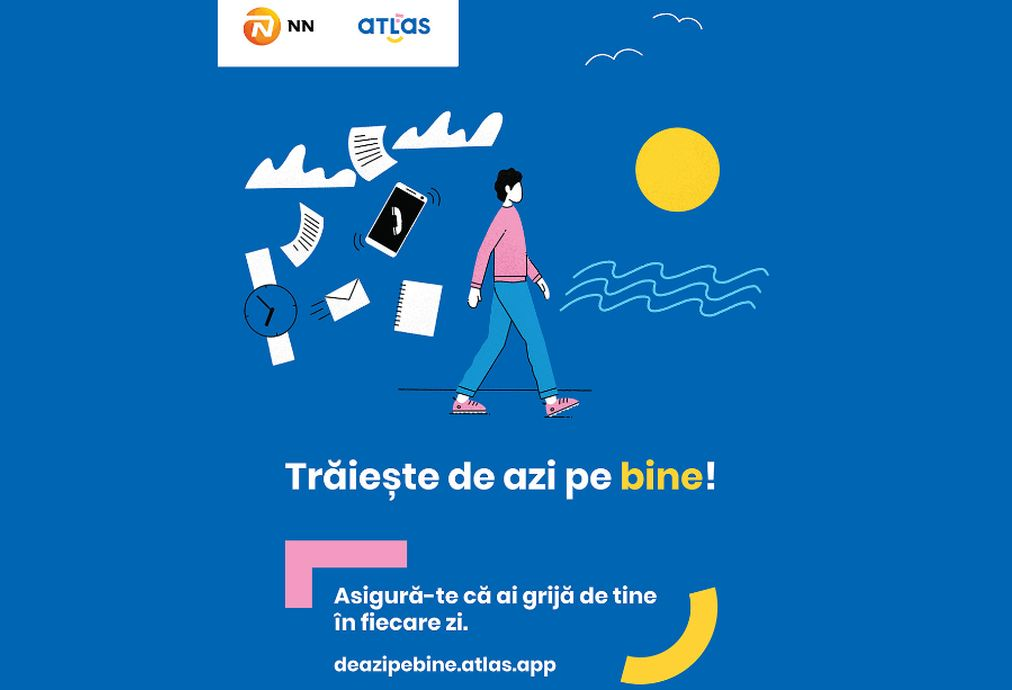 Partnership for the health and well-being of the Romanians: NN and the ATLAS platform launches the Live well today! campaign