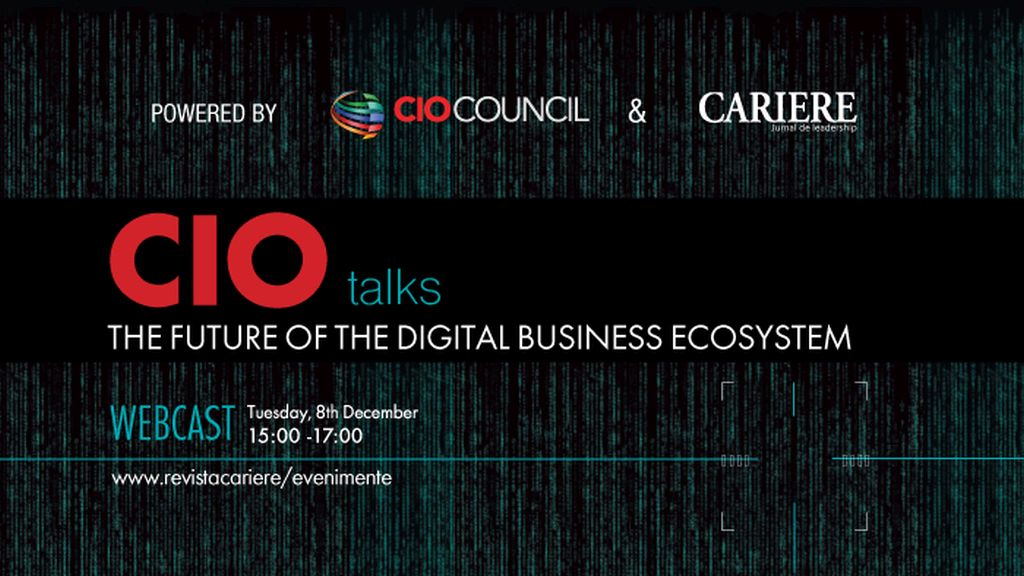 "Webcast: CIO TALKS - Powered by CIO Council  ""The Future of the Digital Business Ecosystem"""