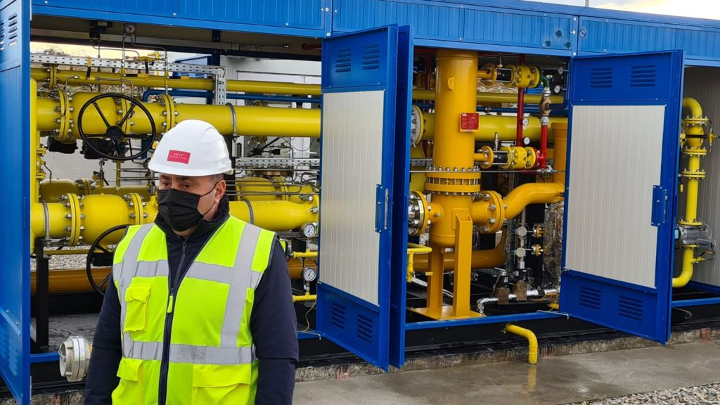 Nova Power & Gas continues investments and inaugurates a natural gas network in Huedin, in a first stage of development worth 11.3 million lei