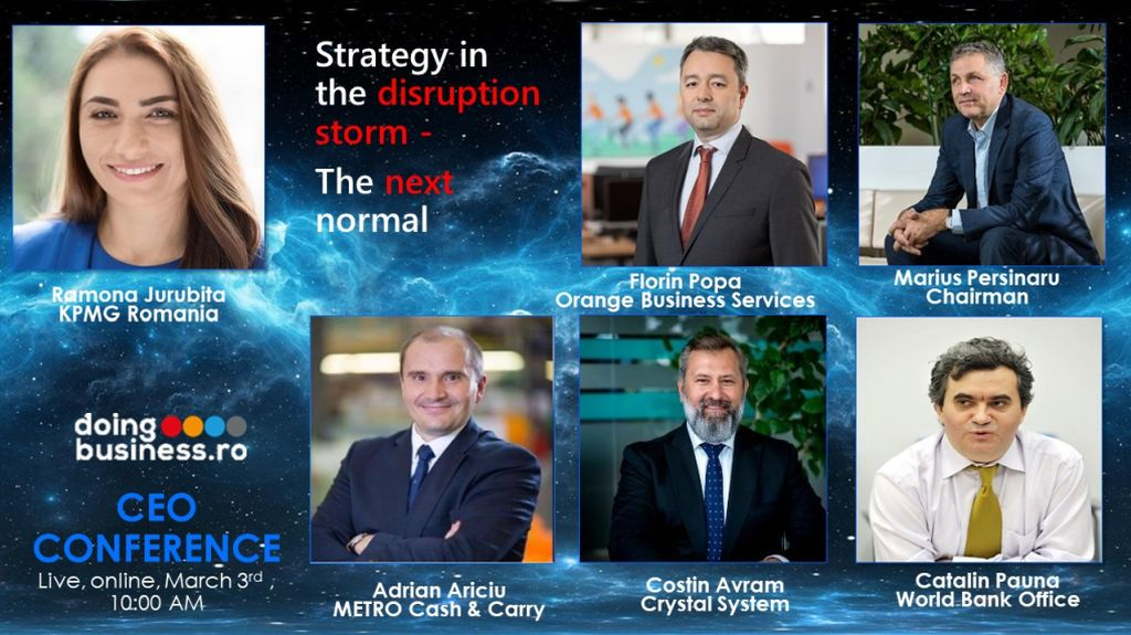 CEO Conference – Shaping the Future - Strategy in the Disruption Storm – the Next Normal
