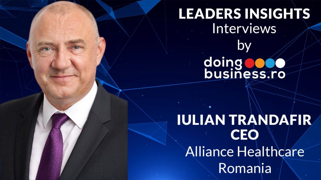 Iulian Trandafir - Alliance Healthcare Romania @ LEADERS INSIGHTS Interviews