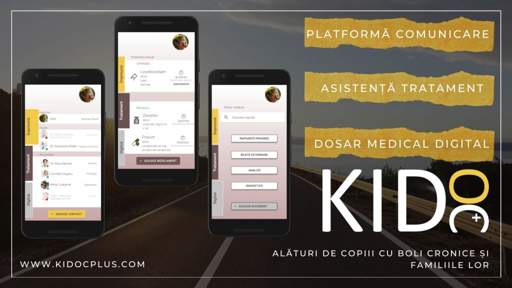 A pediatric surgeon digitizes the access of children with chronic diseases to care and professional help through the KIDoc application