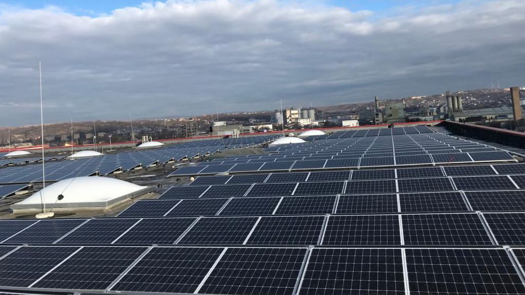 ENEL X ROMANIA installs over 2,800 photovoltaic panels for penny retailer