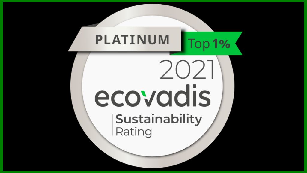 CHEP receives the EcoVadis Platinum Recognition Level, being acknowledged among the top 1% most sustainable companies globally